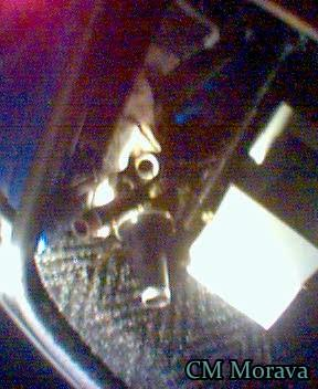 Špatně odložené čúro v autě