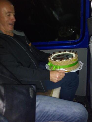 Kohút vyhrál dort