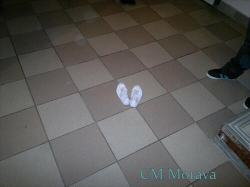 Mažoretka v krojových botách-2